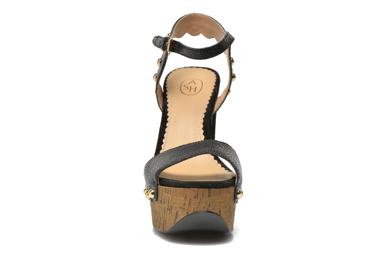 Sandales et nu-pieds Ash Bacci Noir vue portées chaussures