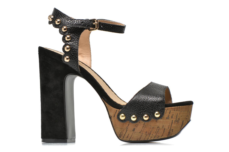 Sandales et nu-pieds Ash Bacci Noir vue derrière