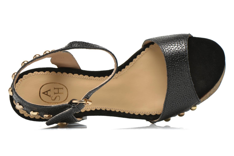 Sandales et nu-pieds Ash Bacci Noir vue gauche