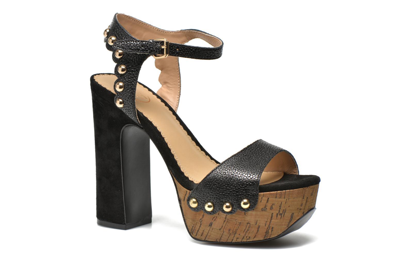 Sandales et nu-pieds Ash Bacci Noir vue détail/paire