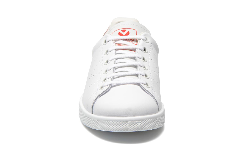 Baskets Victoria Deportivo Kids Blanc vue portées chaussures
