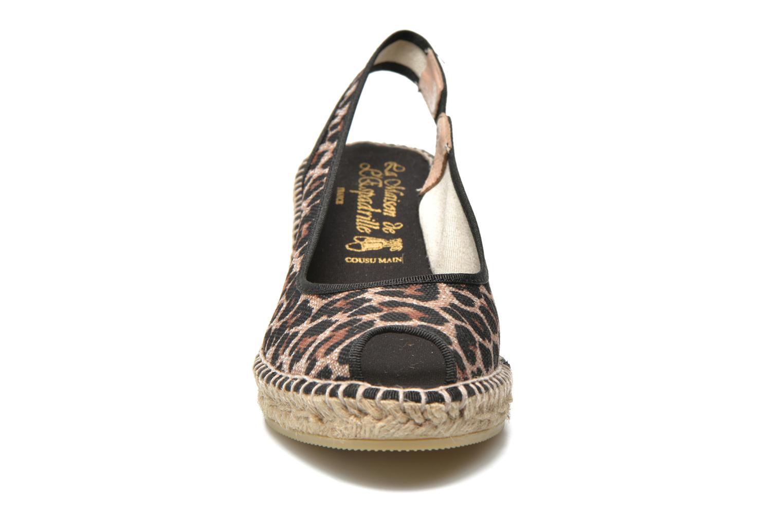 Sandales et nu-pieds La maison de l'espadrille Compensée 235 Multicolore vue portées chaussures