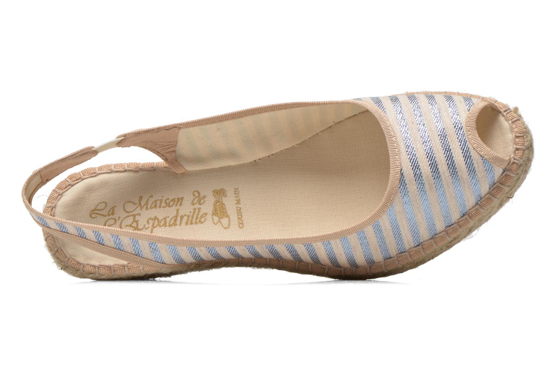 Sandales et nu-pieds La maison de l'espadrille Compensée 234 Multicolore vue gauche