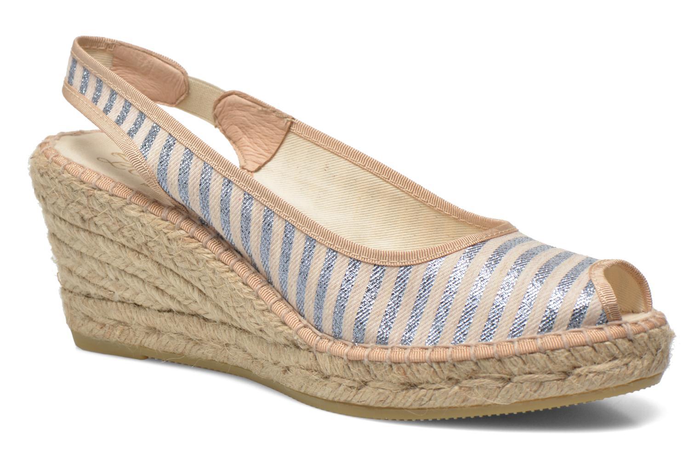 Sandales et nu-pieds La maison de l'espadrille Compensée 234 Multicolore vue détail/paire