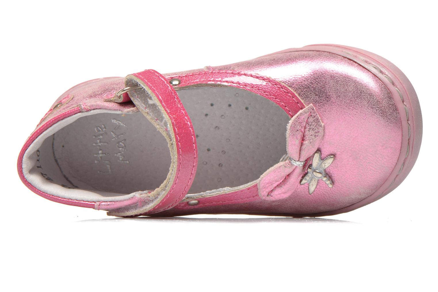 Ballerines Little Mary Vanda Rose vue gauche