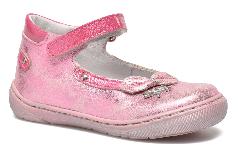 Bailarinas Little Mary Vanda Rosa vista de detalle / par