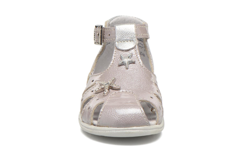 Sandales et nu-pieds Little Mary Vienne Gris vue portées chaussures