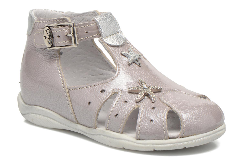 Sandales et nu-pieds Little Mary Vienne Gris vue détail/paire