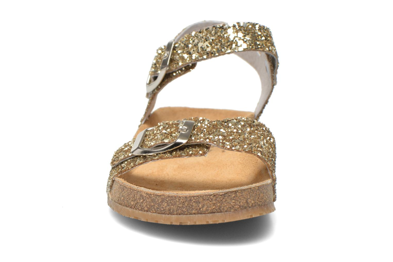 Sandalen Acebo's Marta gold/bronze schuhe getragen