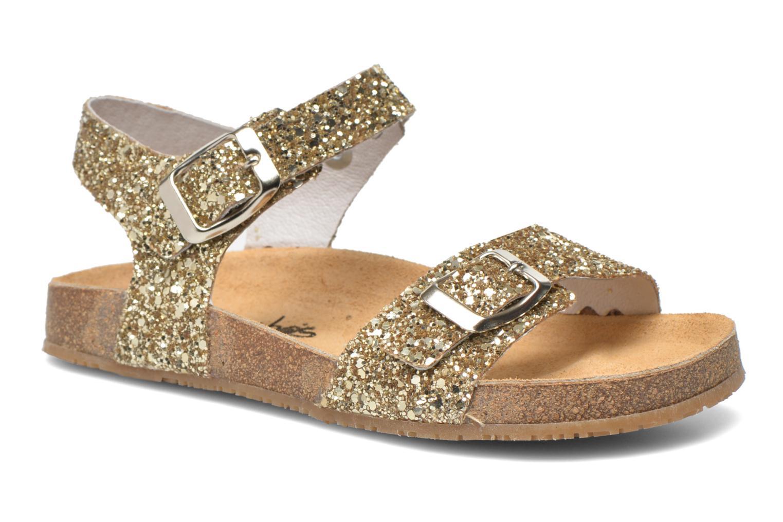 Sandaler Acebo's Marta Guld og bronze detaljeret billede af skoene