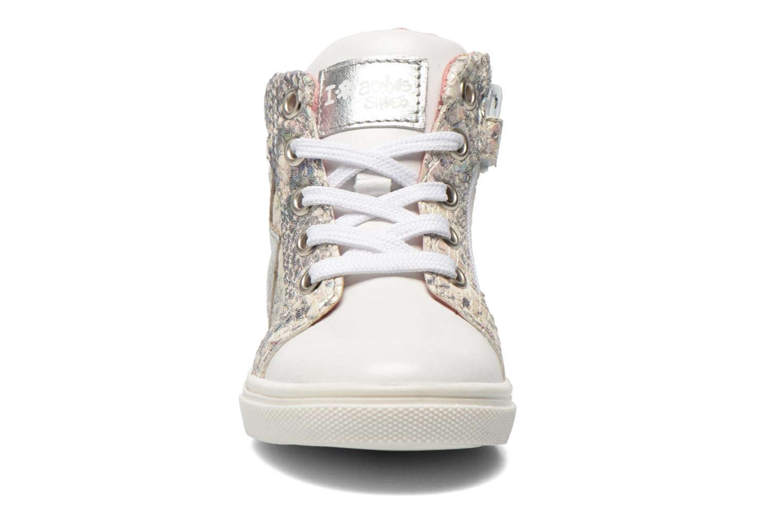 Sneaker Acebo's Paula silber schuhe getragen