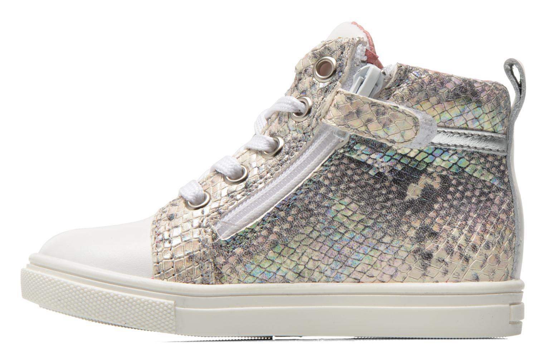 Sneaker Acebo's Paula silber ansicht von vorne