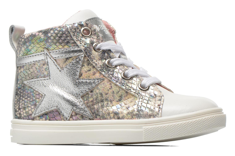 Sneaker Acebo's Paula silber ansicht von hinten