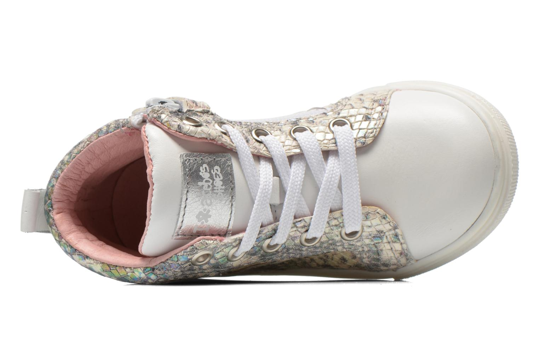 Sneaker Acebo's Paula silber ansicht von links