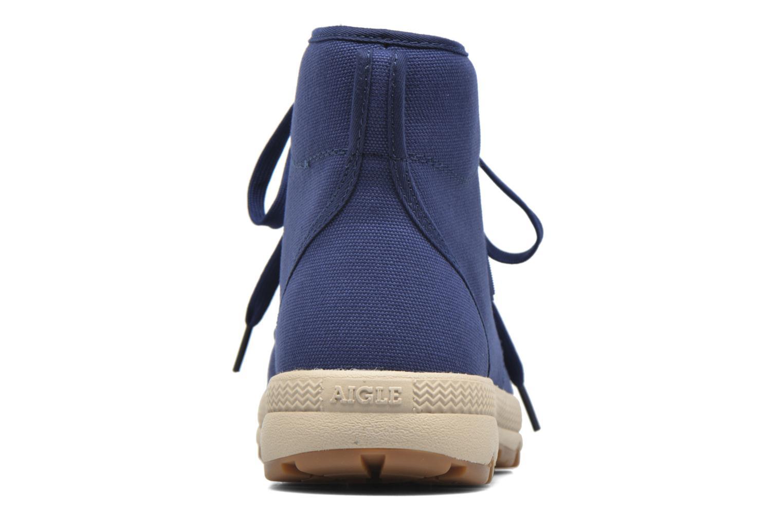 Bottines et boots Aigle Tenere 3 Light Bleu vue droite