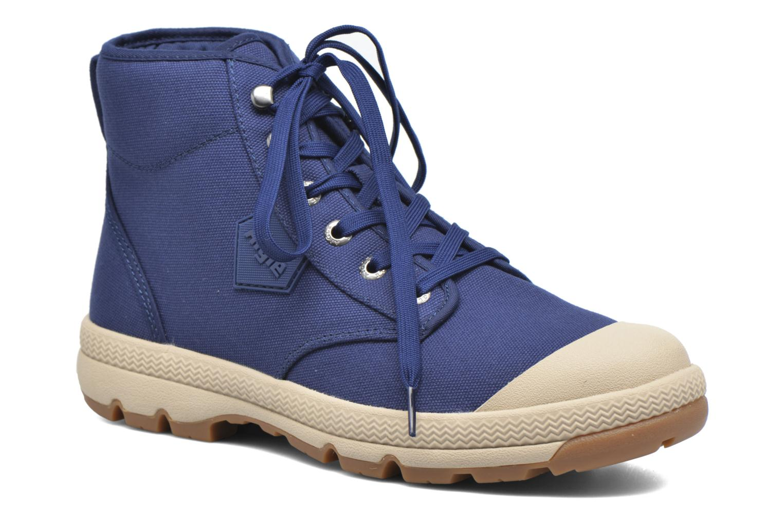 Bottines et boots Aigle Tenere 3 Light Bleu vue détail/paire