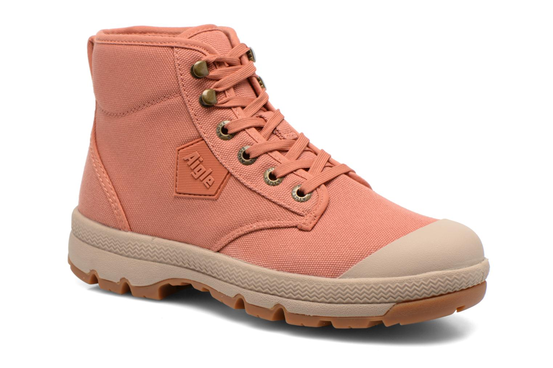 Snøresko Aigle Tenere 3 Light W Pink detaljeret billede af skoene