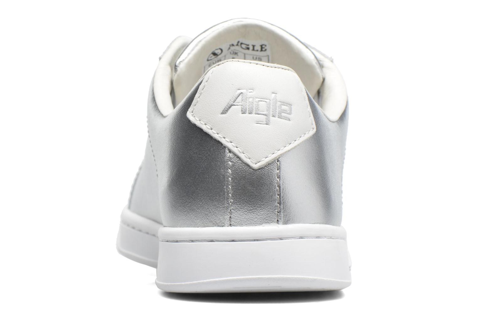 Trainers Aigle Yarden Time W Silver view from the right