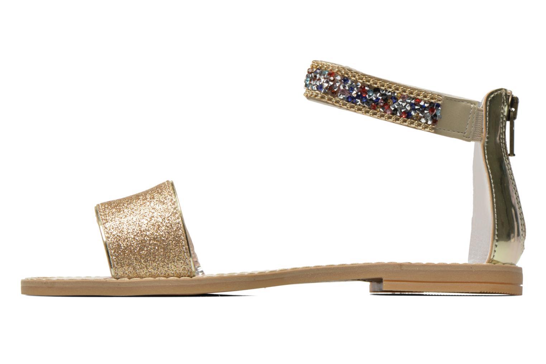 Sandals Primigi Karine Bronze and Gold front view