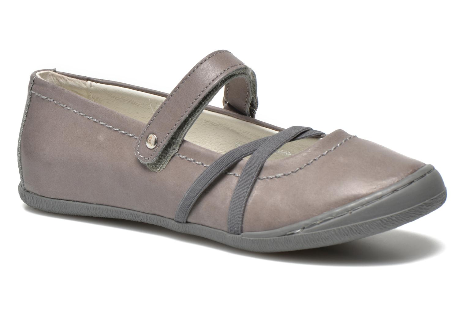 Ballet pumps Primigi Lisbona 1-E Grey detailed view/ Pair view