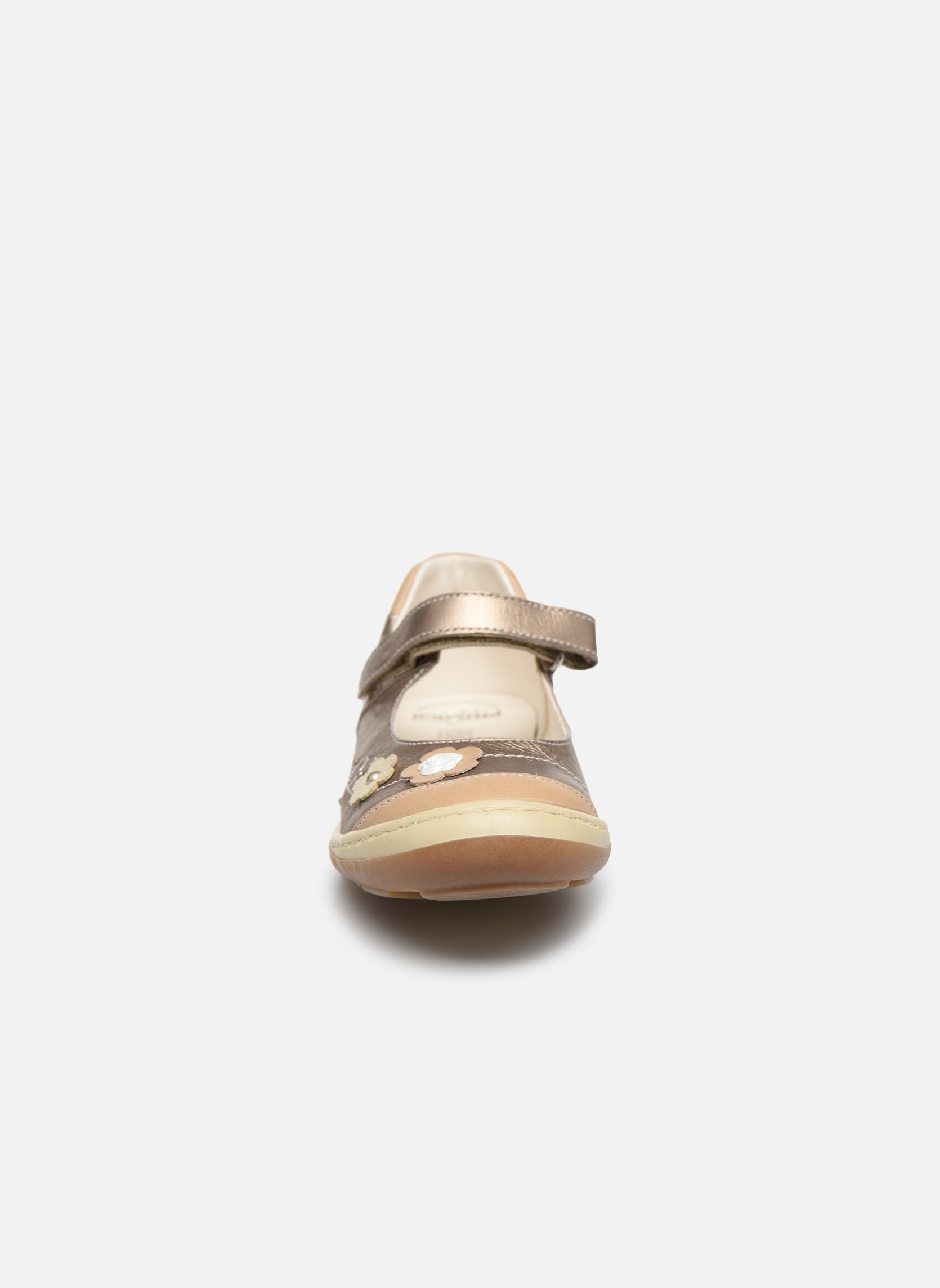 Ballerines Primigi Bertida-E Or et bronze vue portées chaussures