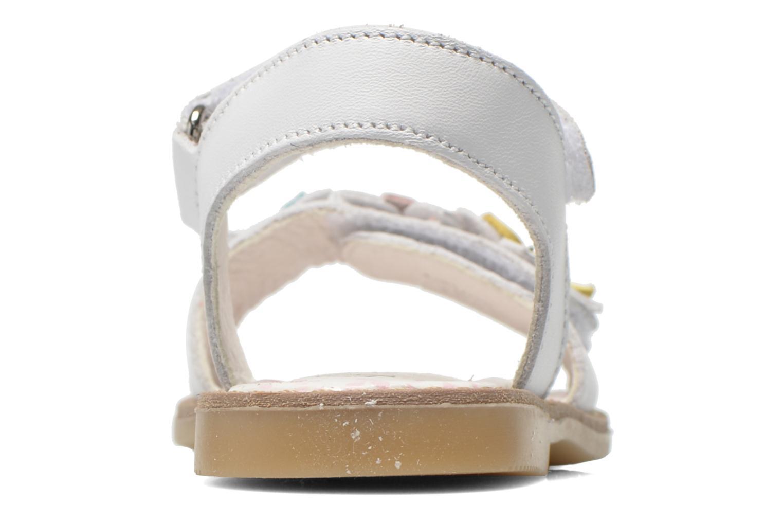 Sandales et nu-pieds Primigi Ginessa Blanc vue droite