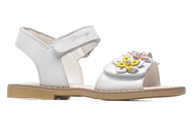 Sandales et nu-pieds Primigi Ginessa Blanc vue derrière