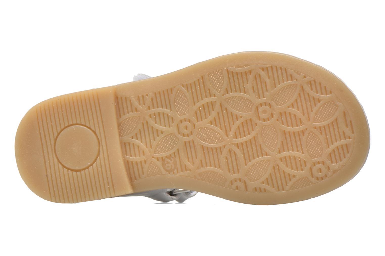 Sandales et nu-pieds Primigi Ginessa Blanc vue haut