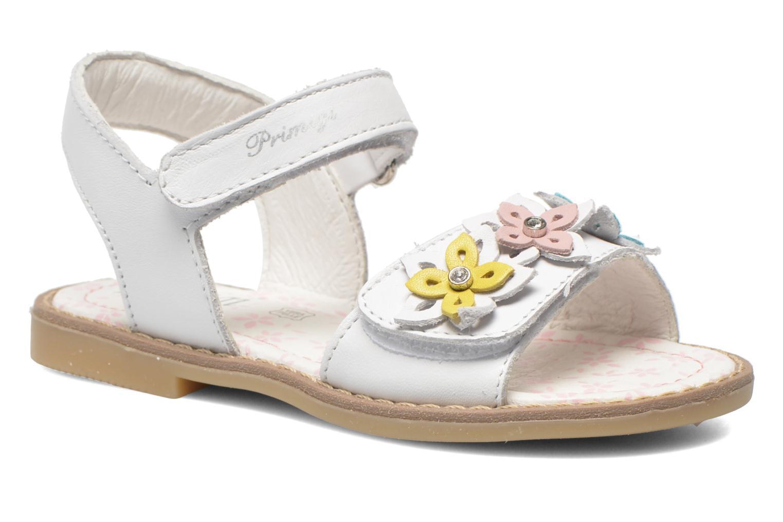 Sandales et nu-pieds Primigi Ginessa Blanc vue détail/paire