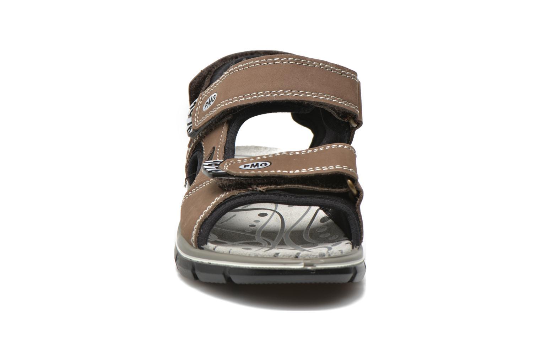 Sandales et nu-pieds Primigi Damir Marron vue portées chaussures