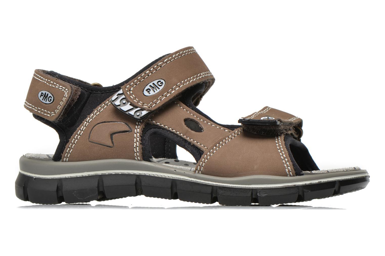 Sandales et nu-pieds Primigi Damir Marron vue derrière