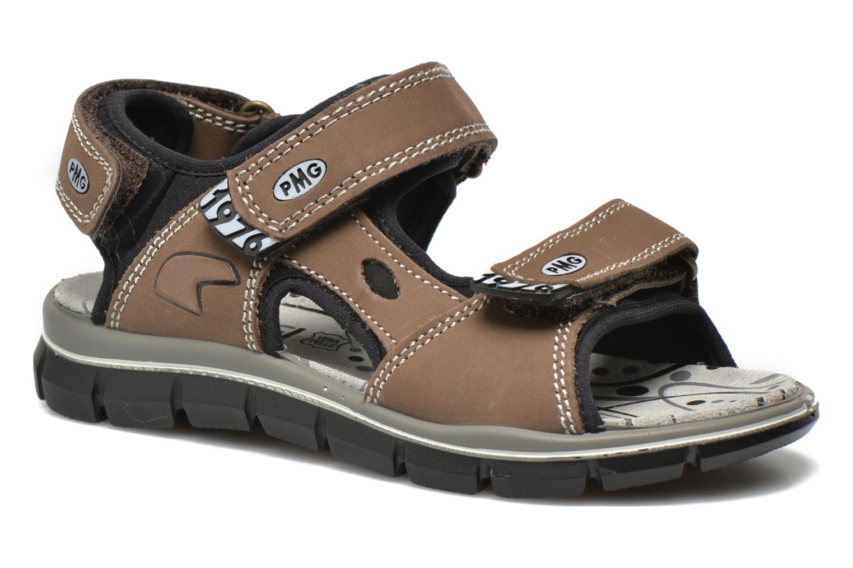 Sandales et nu-pieds Primigi Damir Marron vue détail/paire
