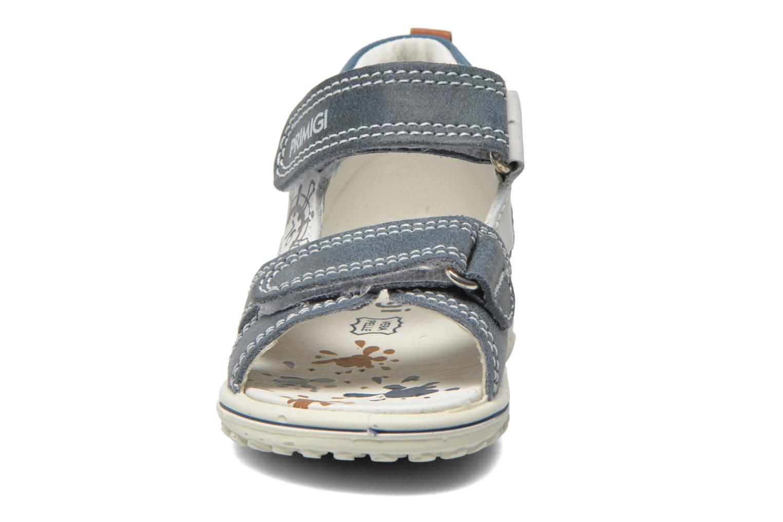 Sandales et nu-pieds Primigi Dudo Bleu vue portées chaussures