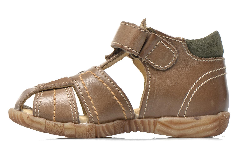 Sandales et nu-pieds Primigi Lars Gris vue face