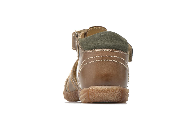 Sandales et nu-pieds Primigi Lars Gris vue droite
