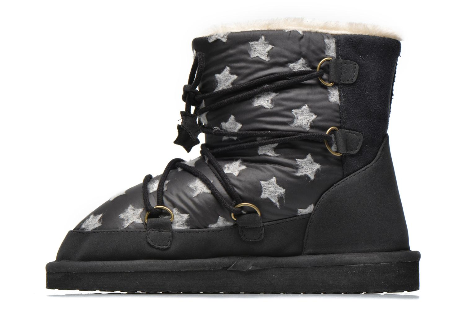 Ankle boots Pepe jeans Angel Stars Black front view