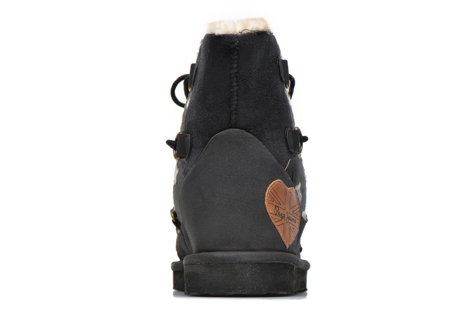 Ankle boots Pepe jeans Angel Stars Black view from the right