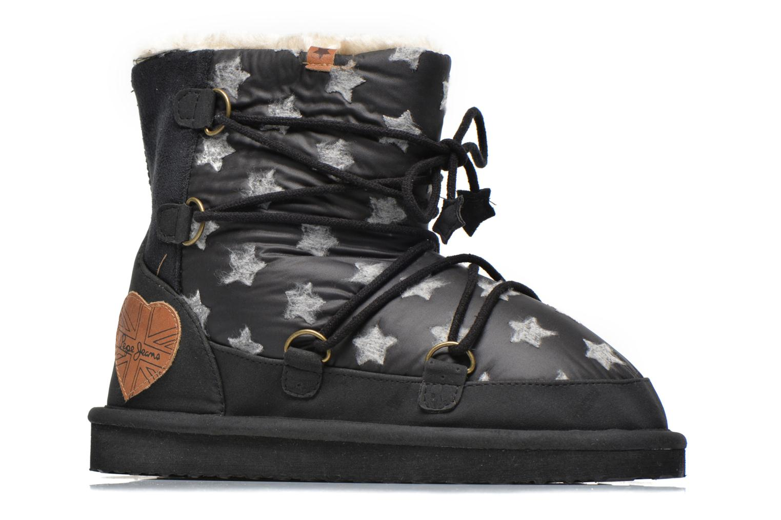Ankle boots Pepe jeans Angel Stars Black back view