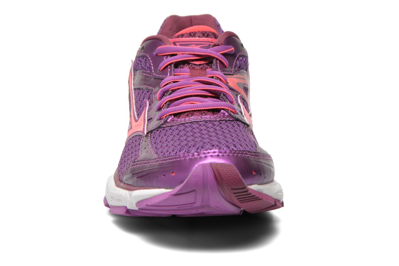 Chaussures de sport Mizuno Wave Connect 3 W Violet vue portées chaussures