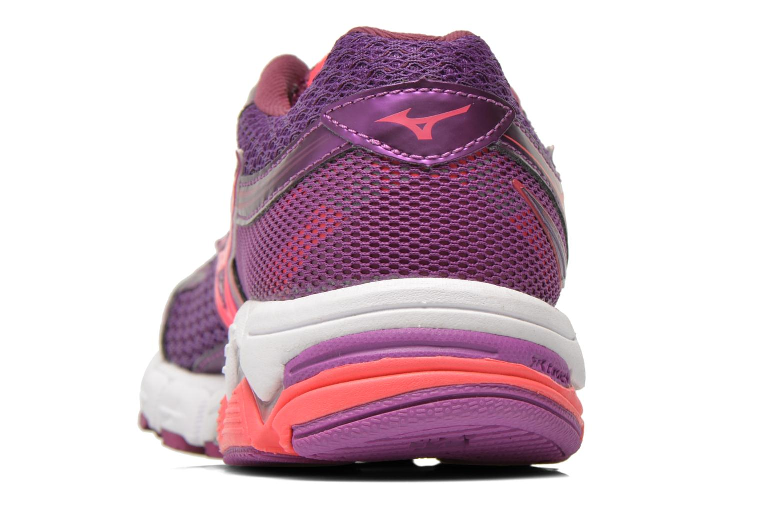 Sport shoes Mizuno Wave Connect 3 W Purple view from the right