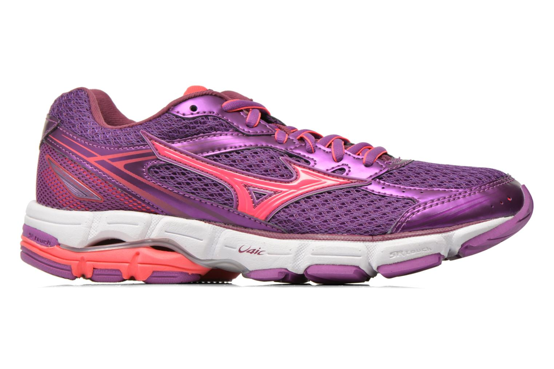 Chaussures de sport Mizuno Wave Connect 3 W Violet vue derrière