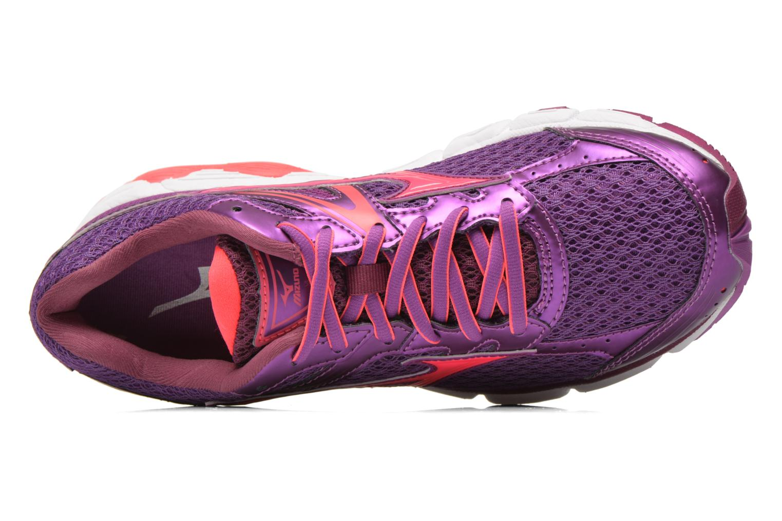 Sport shoes Mizuno Wave Connect 3 W Purple view from the left