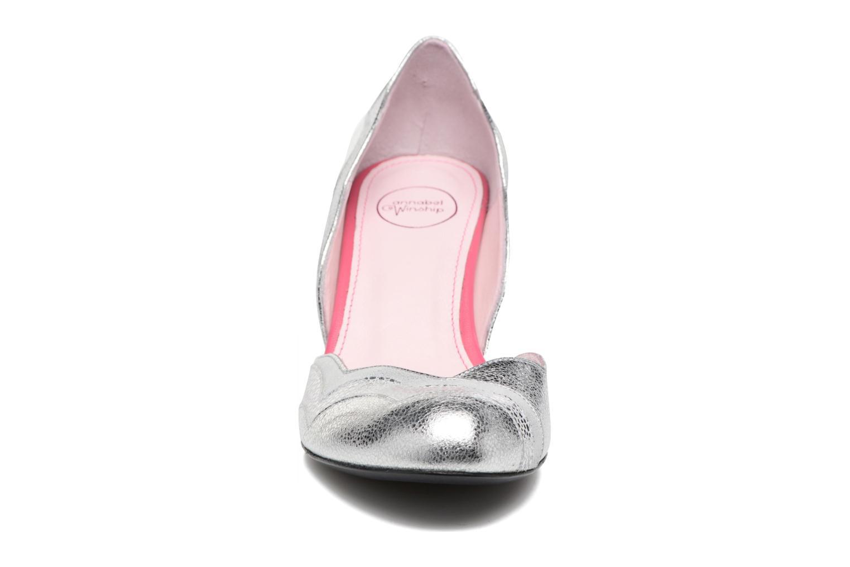 Escarpins Annabel Winship Rustyjames Argent vue portées chaussures