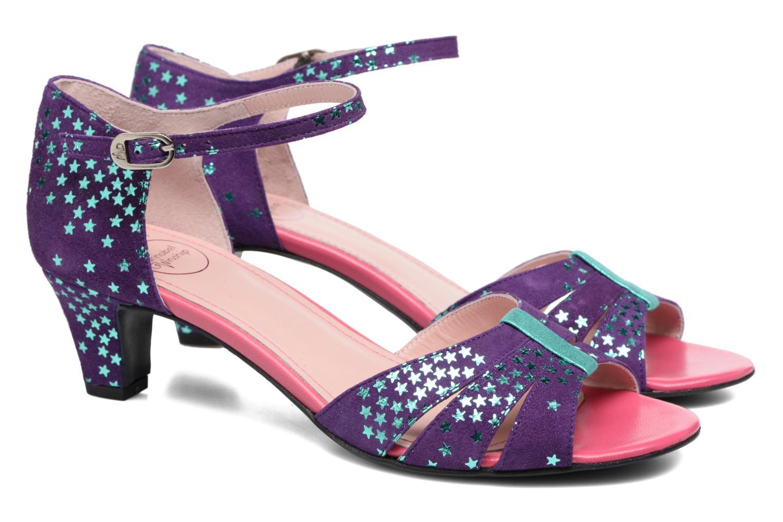 Sandales et nu-pieds Annabel Winship Trocool Violet vue 3/4