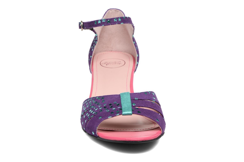 Sandales et nu-pieds Annabel Winship Trocool Violet vue portées chaussures