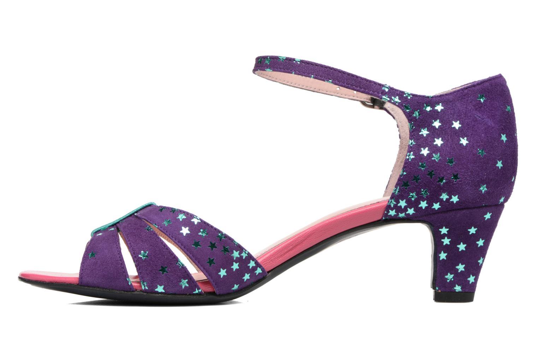 Sandales et nu-pieds Annabel Winship Trocool Violet vue face