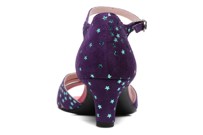 Sandali e scarpe aperte Annabel Winship Trocool Viola immagine destra