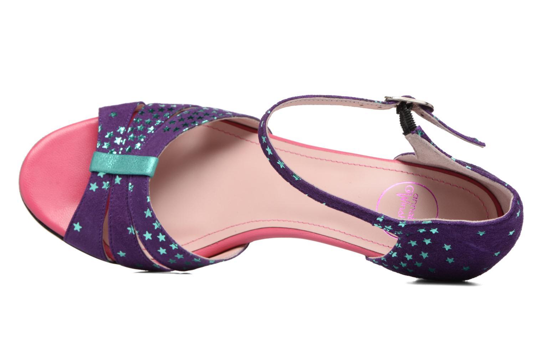 Sandales et nu-pieds Annabel Winship Trocool Violet vue gauche