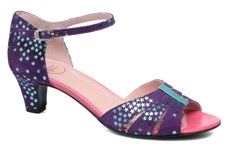 Sandales et nu-pieds Annabel Winship Trocool Violet vue détail/paire