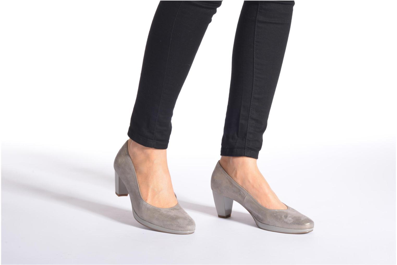 Zapatos de tacón Ara Toulouse Pla Oro y bronce vista de abajo